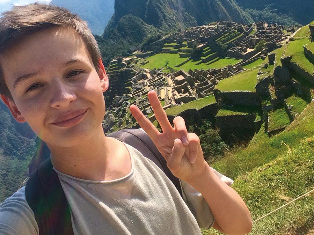 Marian Grau in Machu Picchu