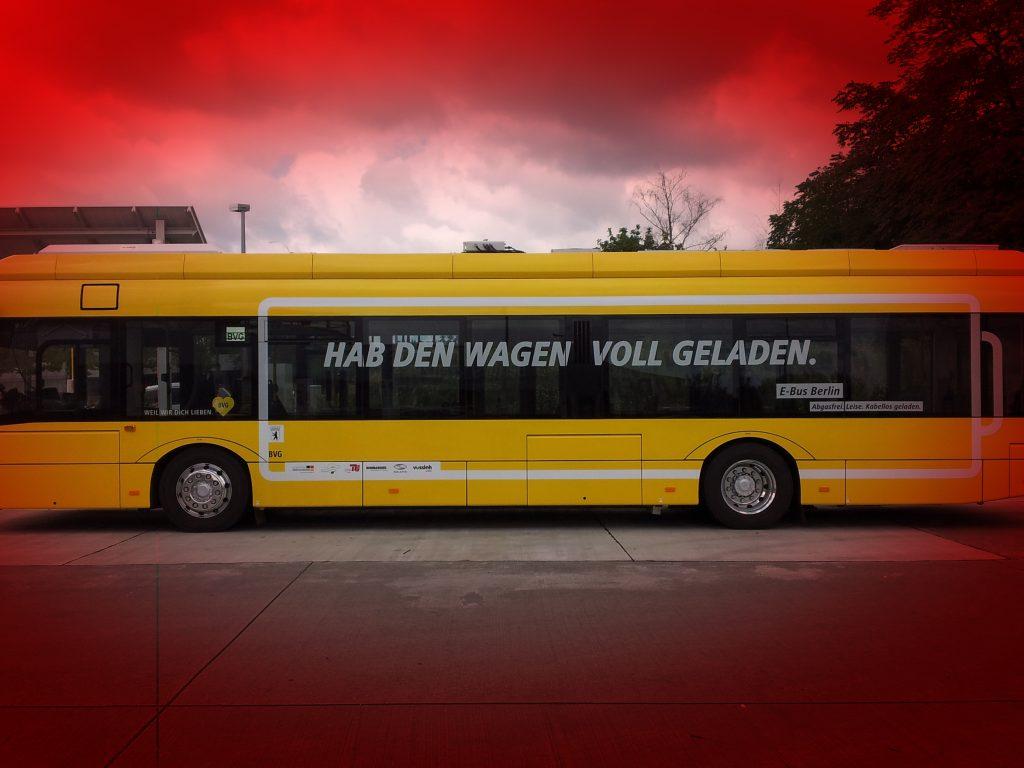 Ein Bus der BVG