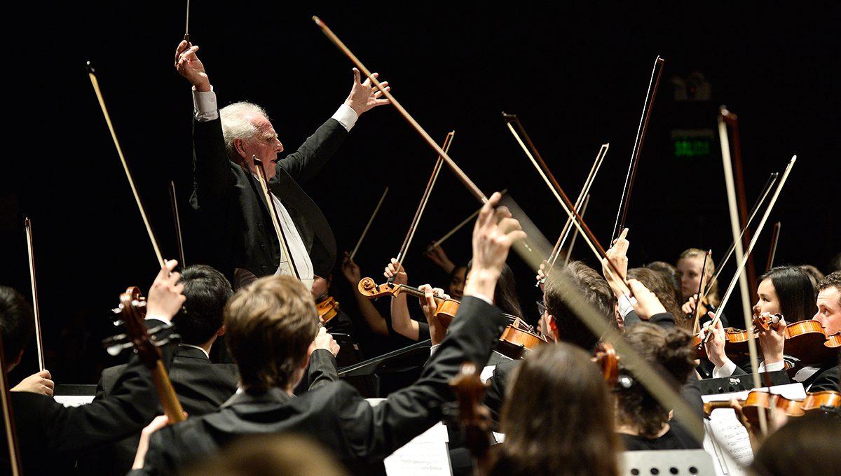 Das Boston Philharmonic Youth Orchestra