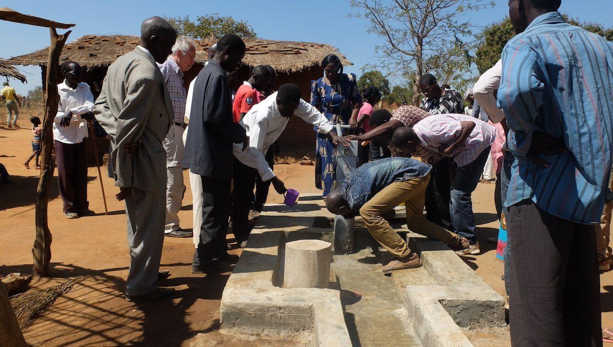 Brunnenbau in Malawi