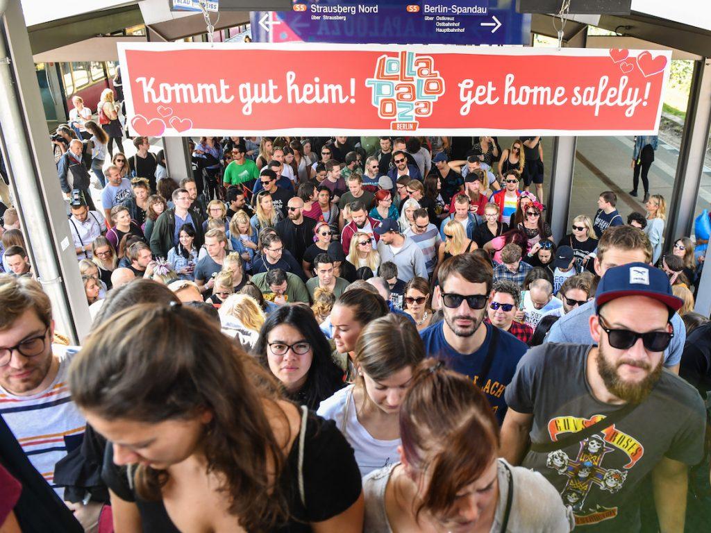 Rückreisechaos nach dem Lollapalooza 2017