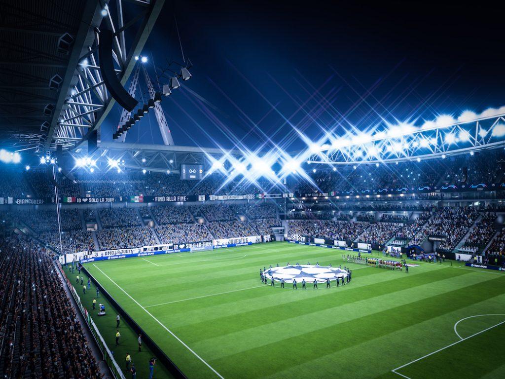 Aufnahme von FIFA 19