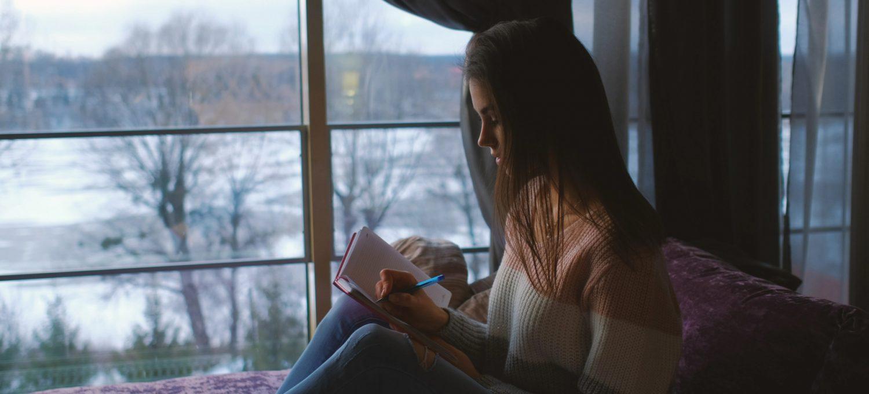 Schreiben passt in die kalte Jahreszeit