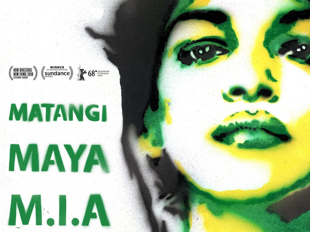 Plakat vom M.I.A.-Film