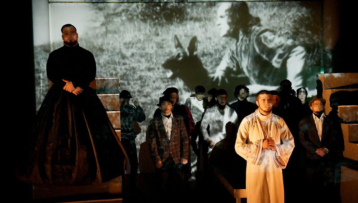 Die Darsteller von Hamlet in der JSA Berlin