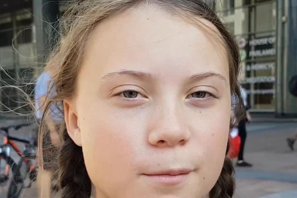 Das Gesicht einer jungen Frau