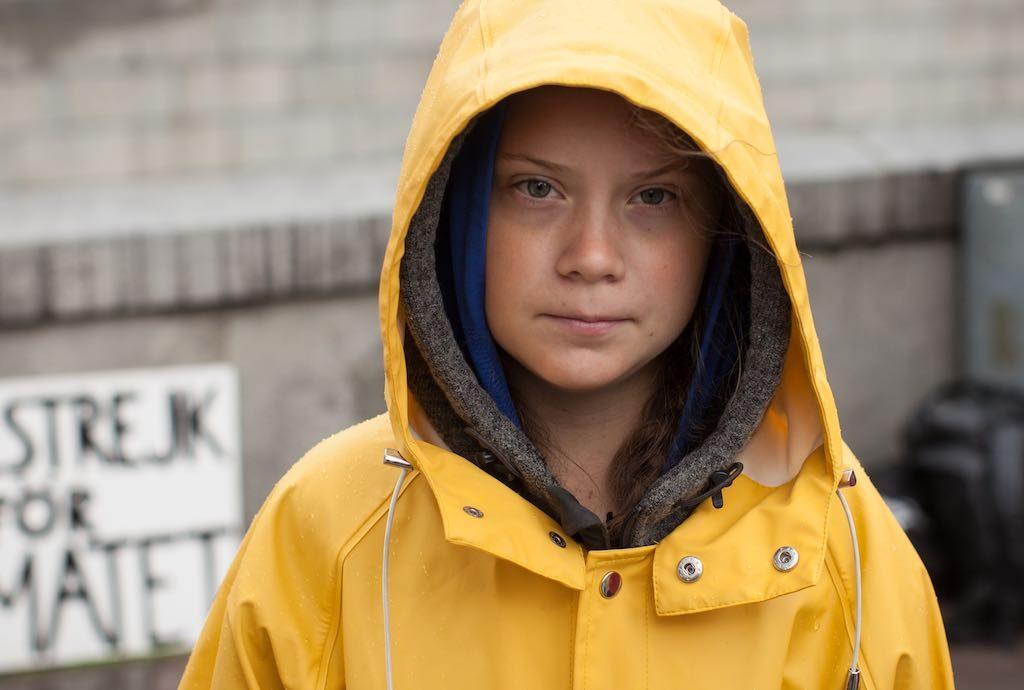 Bild von Greta Thunberg