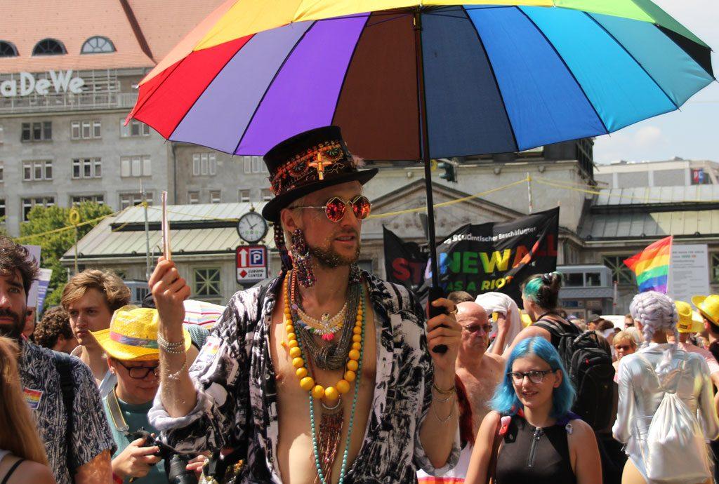 2018 fand in Berlin der 40. Christopher Street Day statt