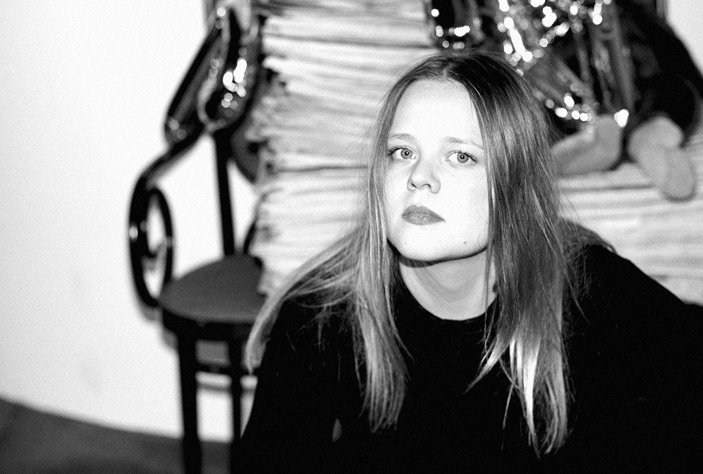 Sängerin Lina Maly