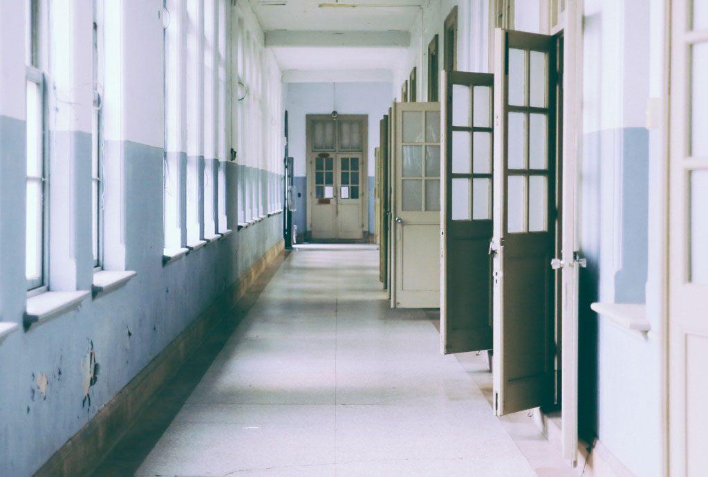 Flur Schule
