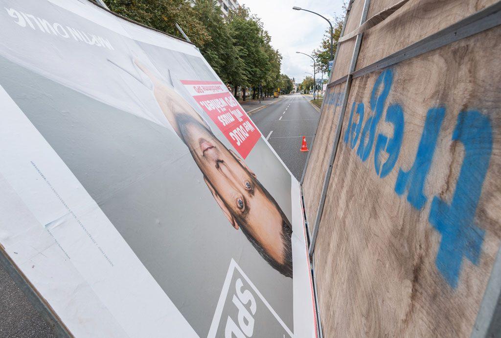 Wahlplakat SPD Dresden