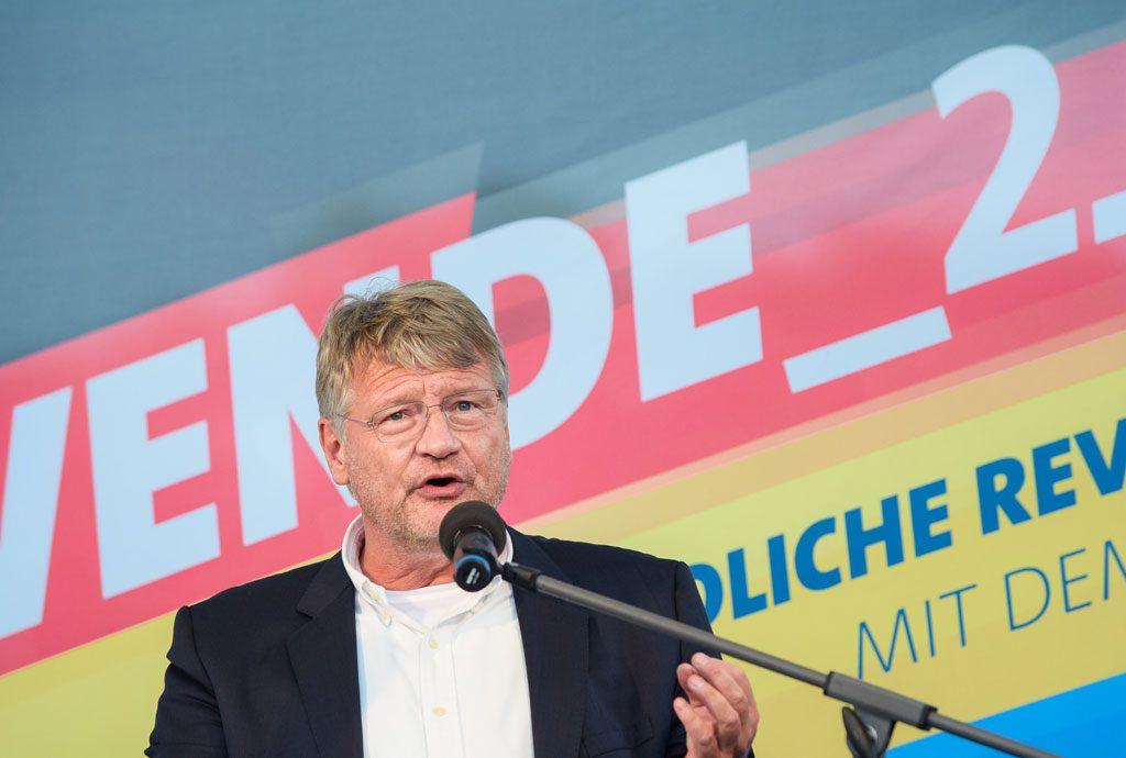 Jörg Meuthen bei Wahlkampfveranstaltung